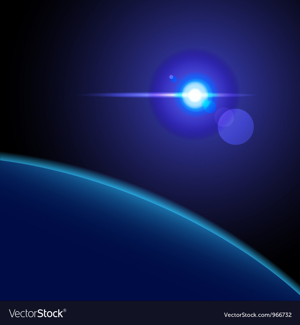 Abstract space background vector   Price: 1 Credit (USD $1)