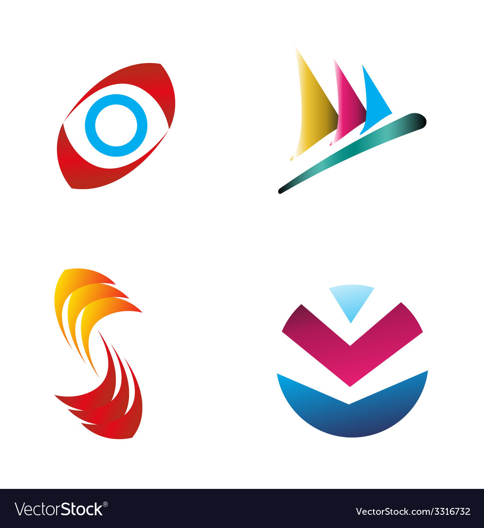 Business logo set graphic design editable for your vector | Price: 1 Credit (USD $1)