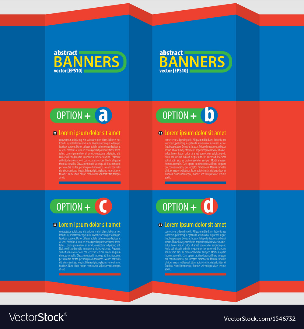 Colorful banners eps10 vector | Price: 1 Credit (USD $1)
