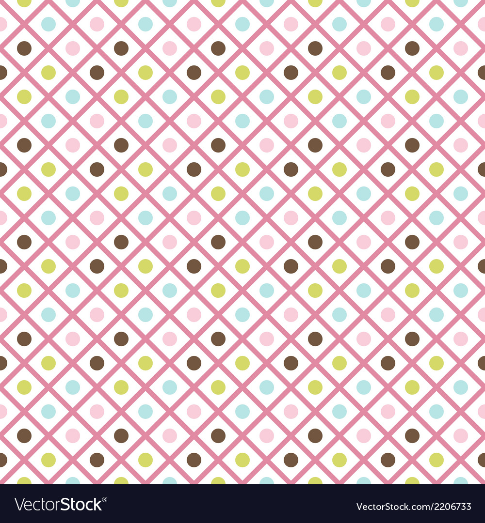 Funny abstract geometric bright seamless pattern vector | Price: 1 Credit (USD $1)