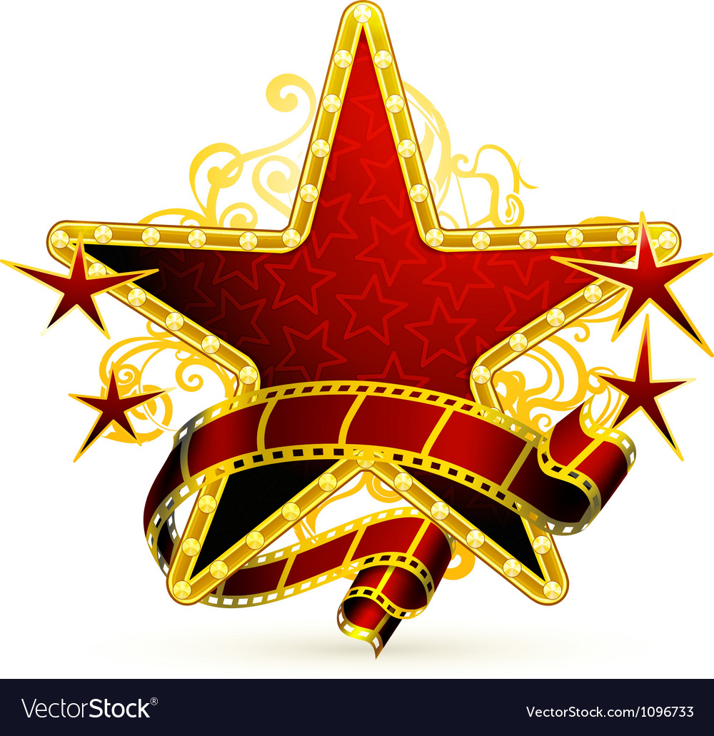 Movie stars vector | Price: 1 Credit (USD $1)