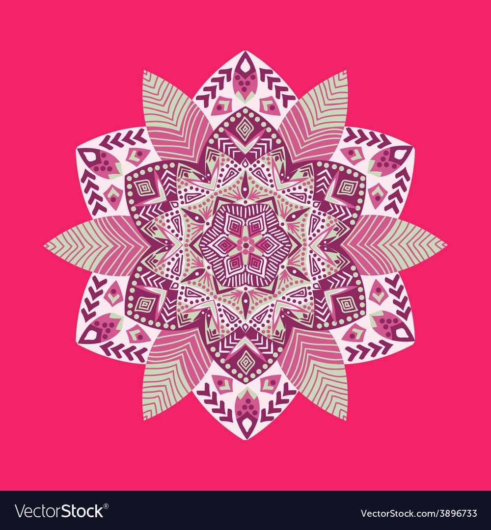 Spring pattern hand-drawn vector | Price: 1 Credit (USD $1)