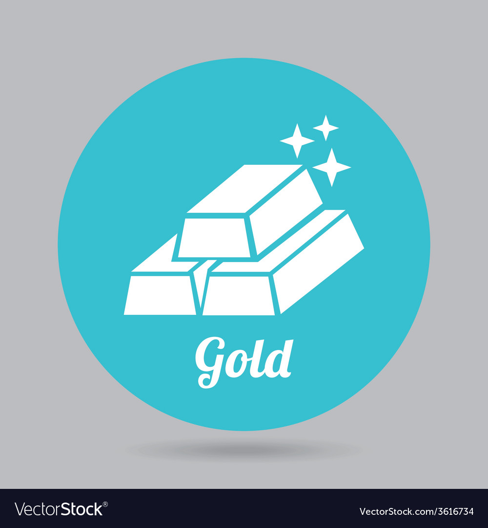 Gold icon vector | Price: 1 Credit (USD $1)