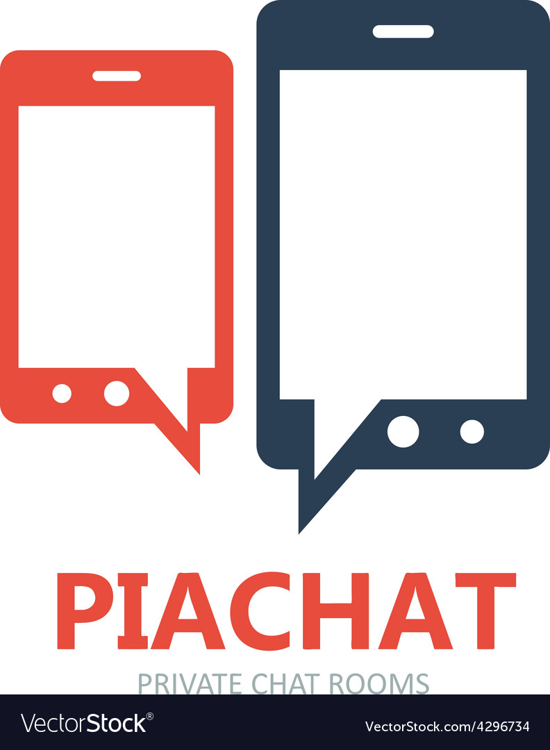 Mobile messaging apps logo vector | Price: 1 Credit (USD $1)