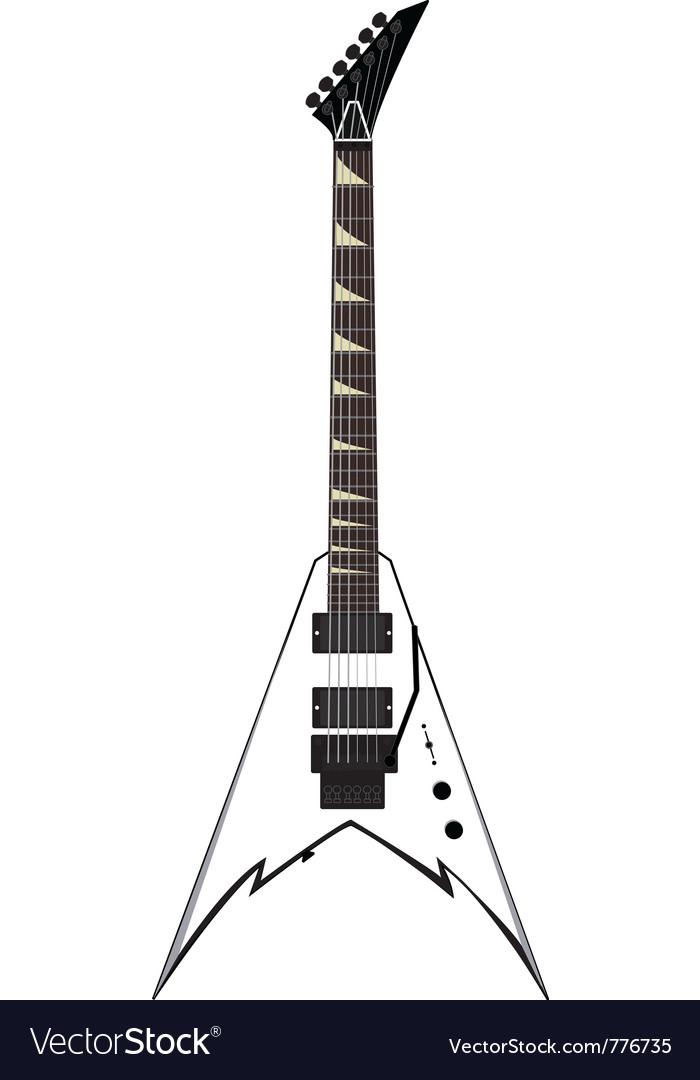 Flying v guitar vector   Price: 1 Credit (USD $1)