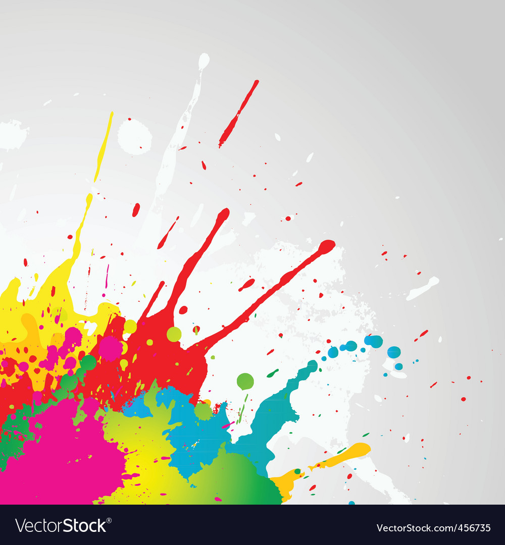 Grunge paint splat vector | Price: 1 Credit (USD $1)