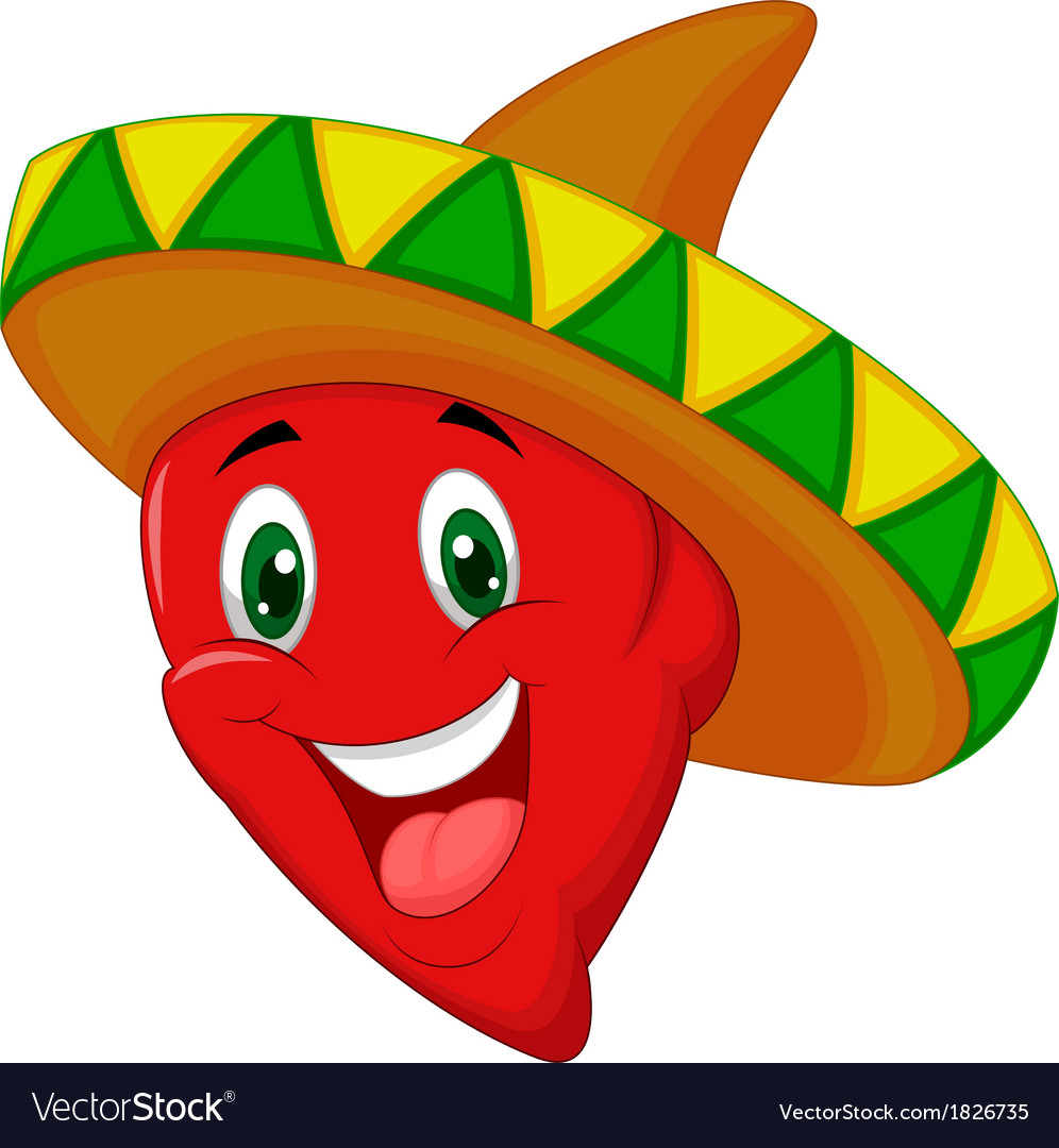 Habanero pepper cartoon vector | Price: 1 Credit (USD $1)