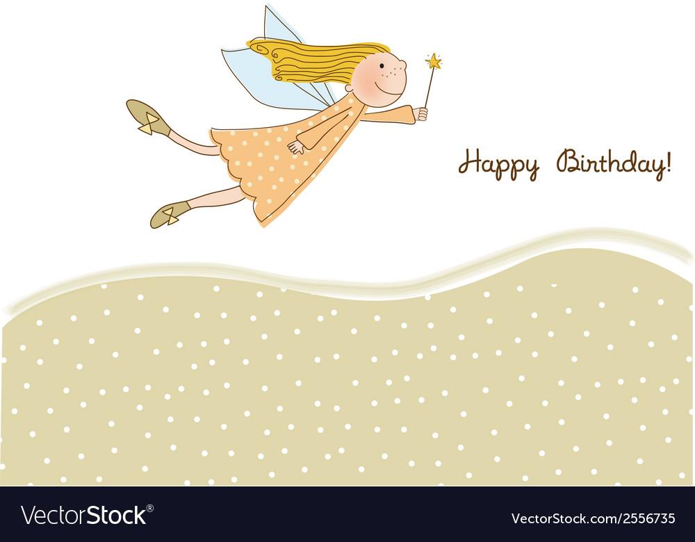 Happy birthday greeting card - vector   Price: 1 Credit (USD $1)