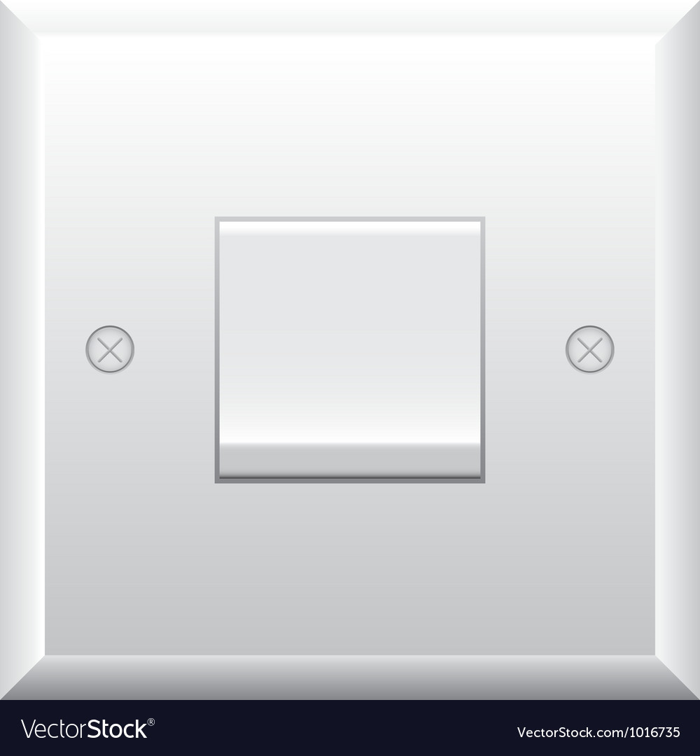 Light switch vector | Price: 1 Credit (USD $1)