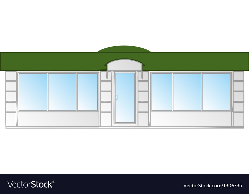 Shop front vector | Price: 1 Credit (USD $1)