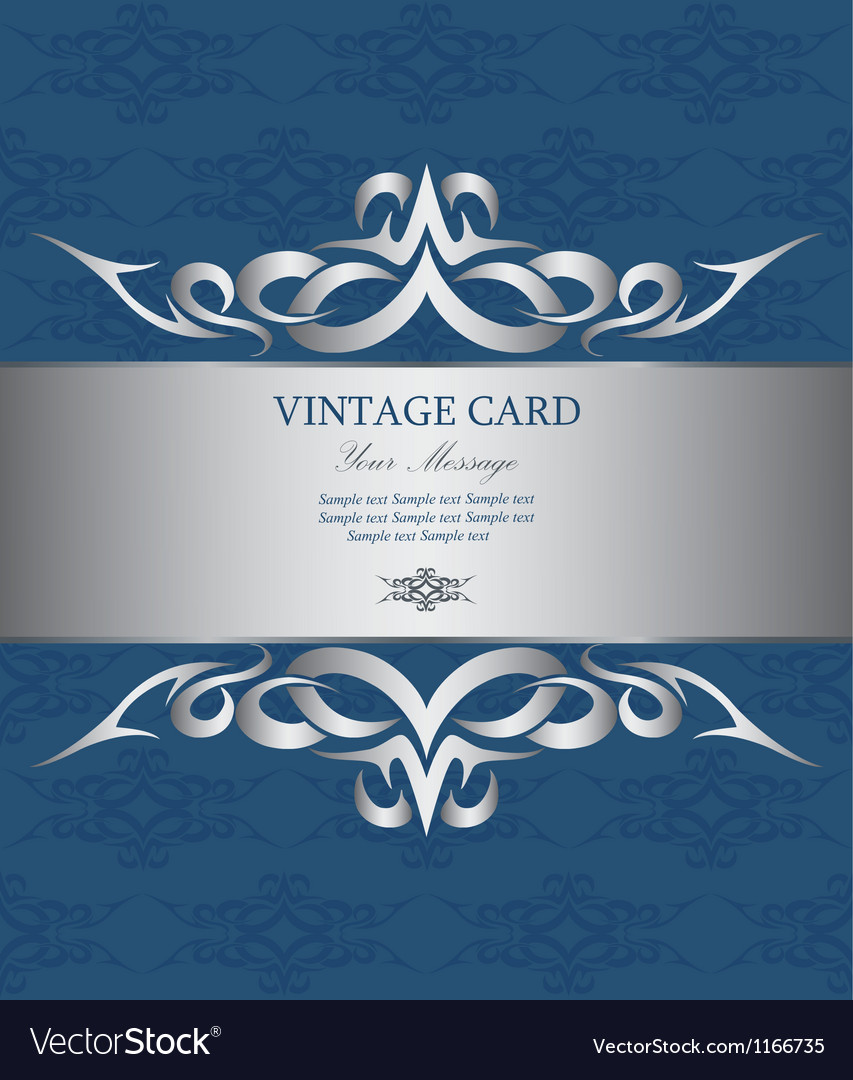 Vintage card vector | Price: 1 Credit (USD $1)