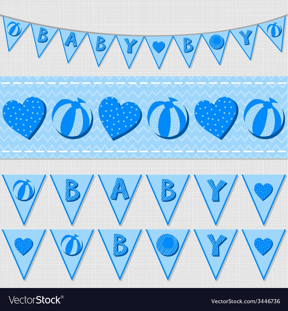 Babies nursery design vector | Price: 1 Credit (USD $1)