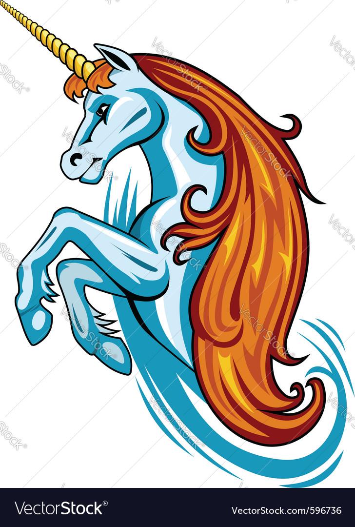 Fantasy unicorn vector | Price: 3 Credit (USD $3)