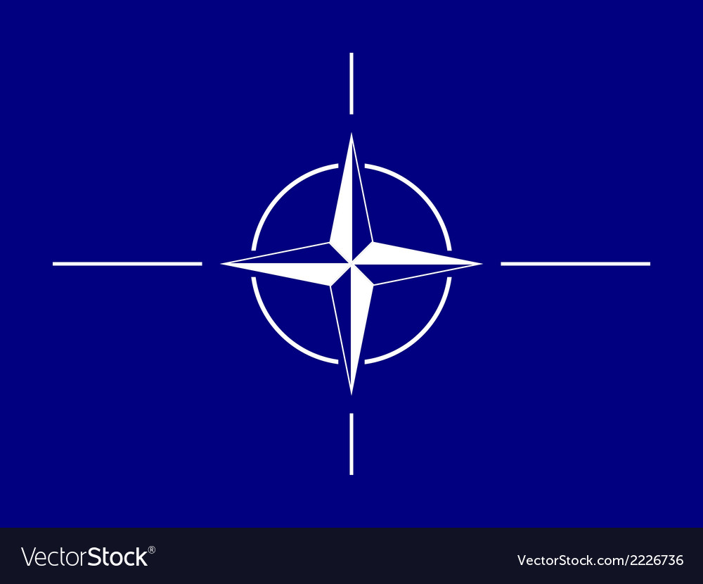 Nato flag vector | Price: 1 Credit (USD $1)