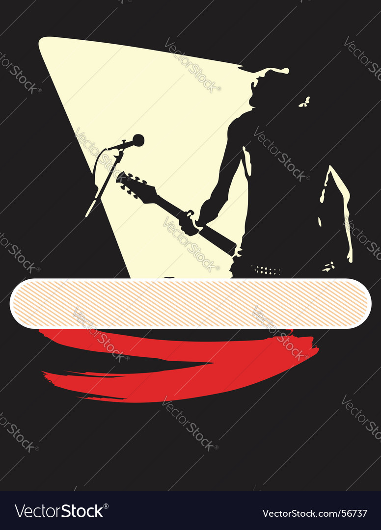 Musical design vector | Price: 1 Credit (USD $1)