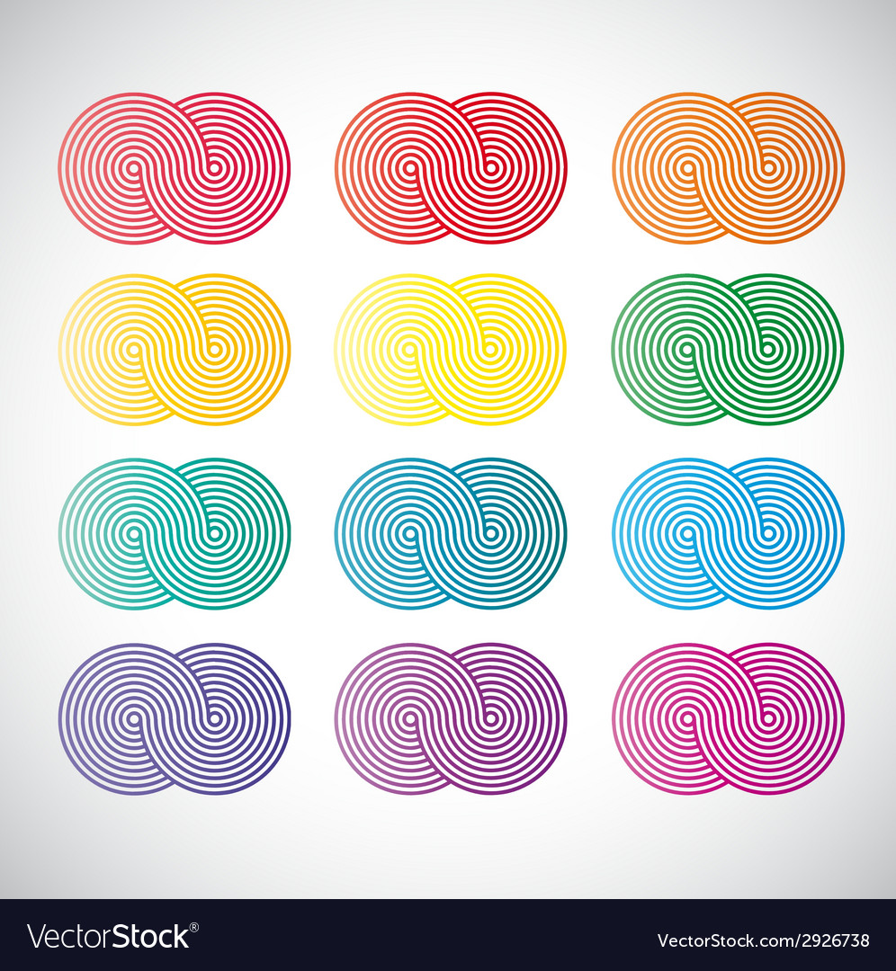 Background with palette vector