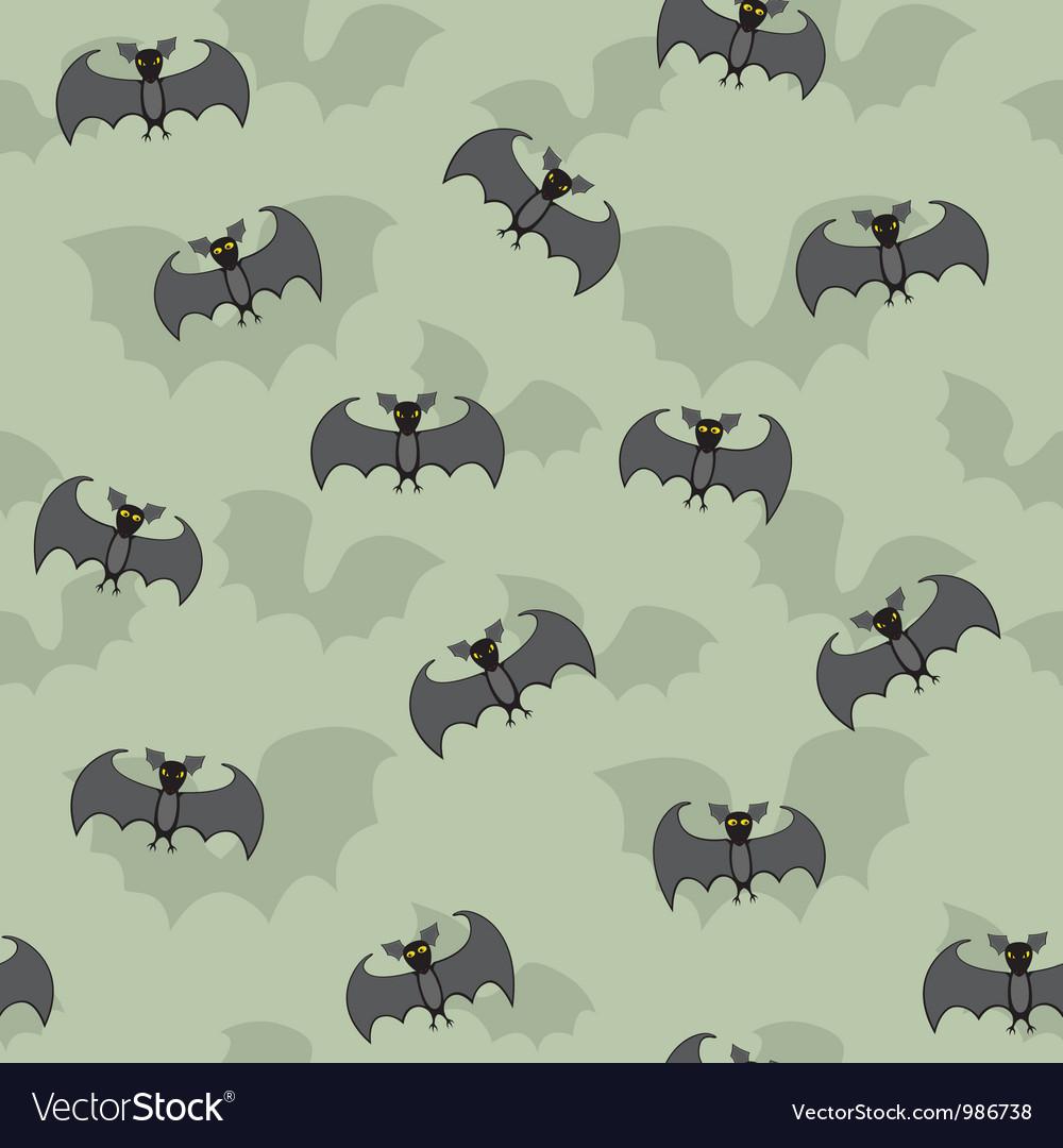Cartoon bats seamless vector | Price: 1 Credit (USD $1)