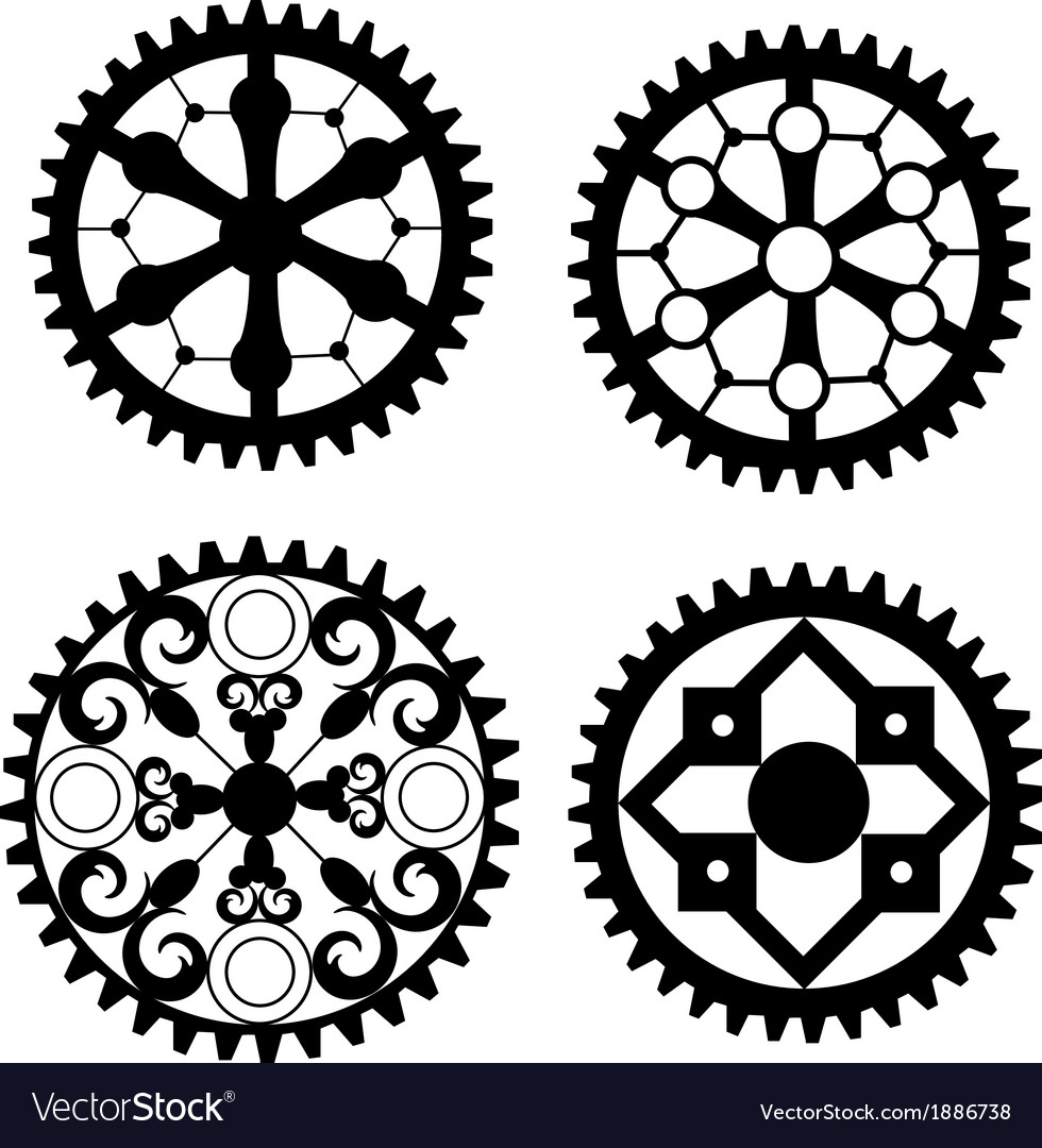 Victorian cogs vector | Price: 1 Credit (USD $1)