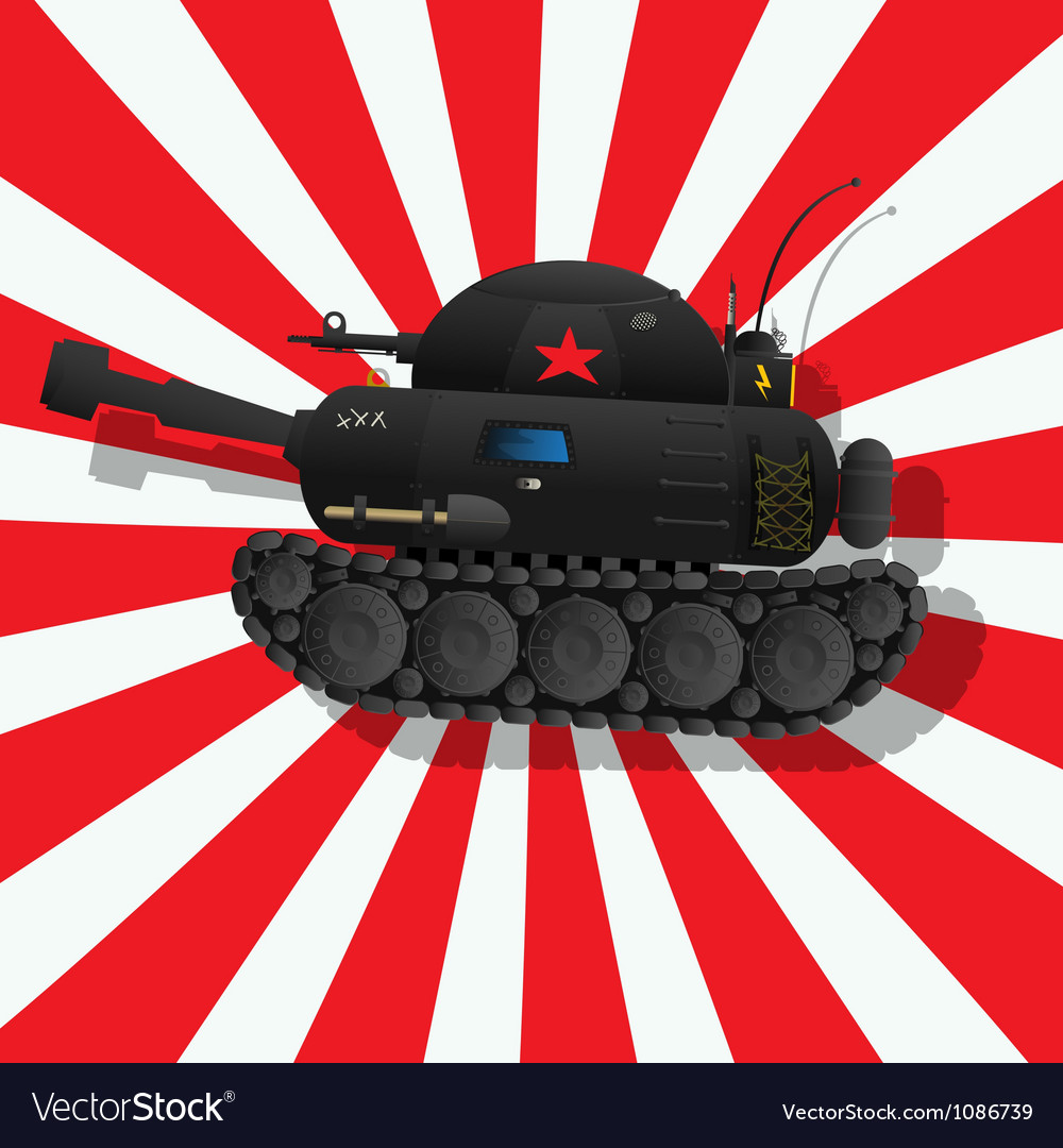 The fantastic tank vector | Price: 1 Credit (USD $1)