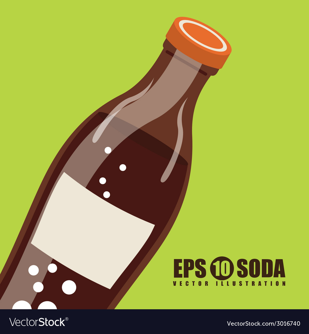 Soda design vector | Price: 1 Credit (USD $1)