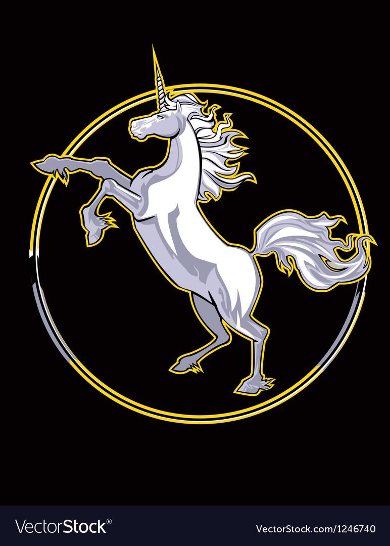 Unicorn thumb vector | Price: 3 Credit (USD $3)