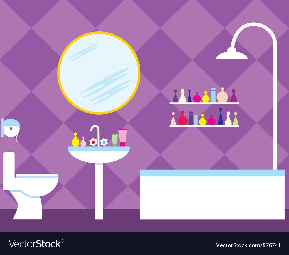 Bathroom vector | Price: 3 Credit (USD $3)