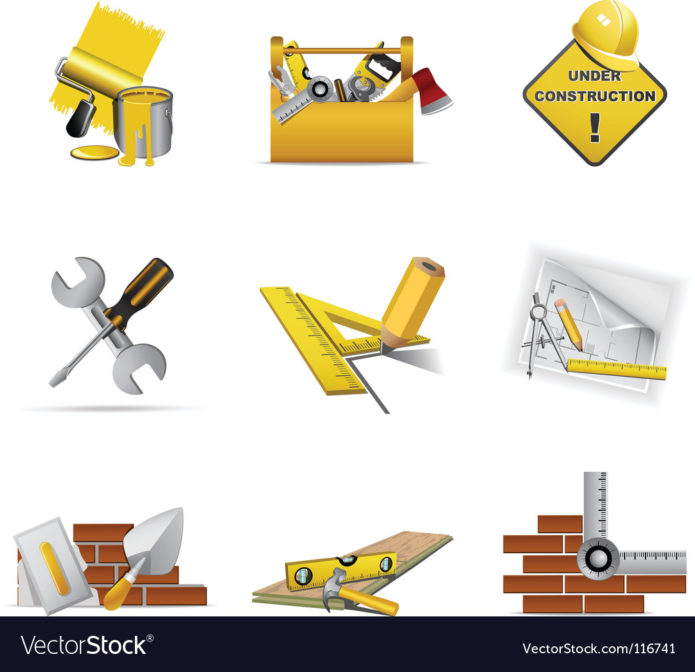 Construction tools vector | Price: 1 Credit (USD $1)