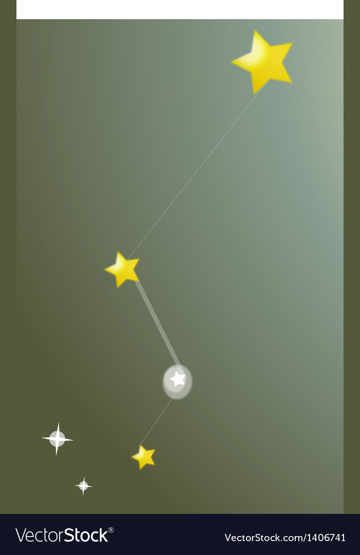 Icon constellation vector | Price: 1 Credit (USD $1)