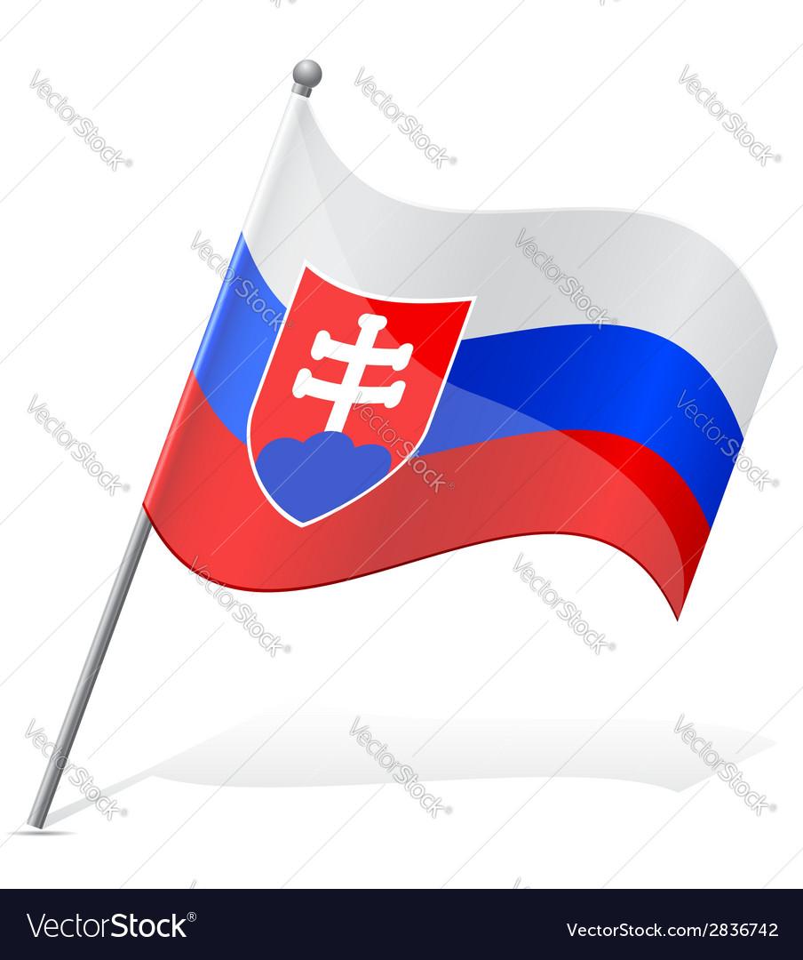 Flag of slovakia vector | Price: 1 Credit (USD $1)