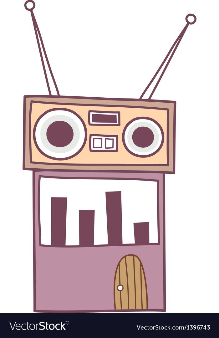 A radio vector | Price: 1 Credit (USD $1)