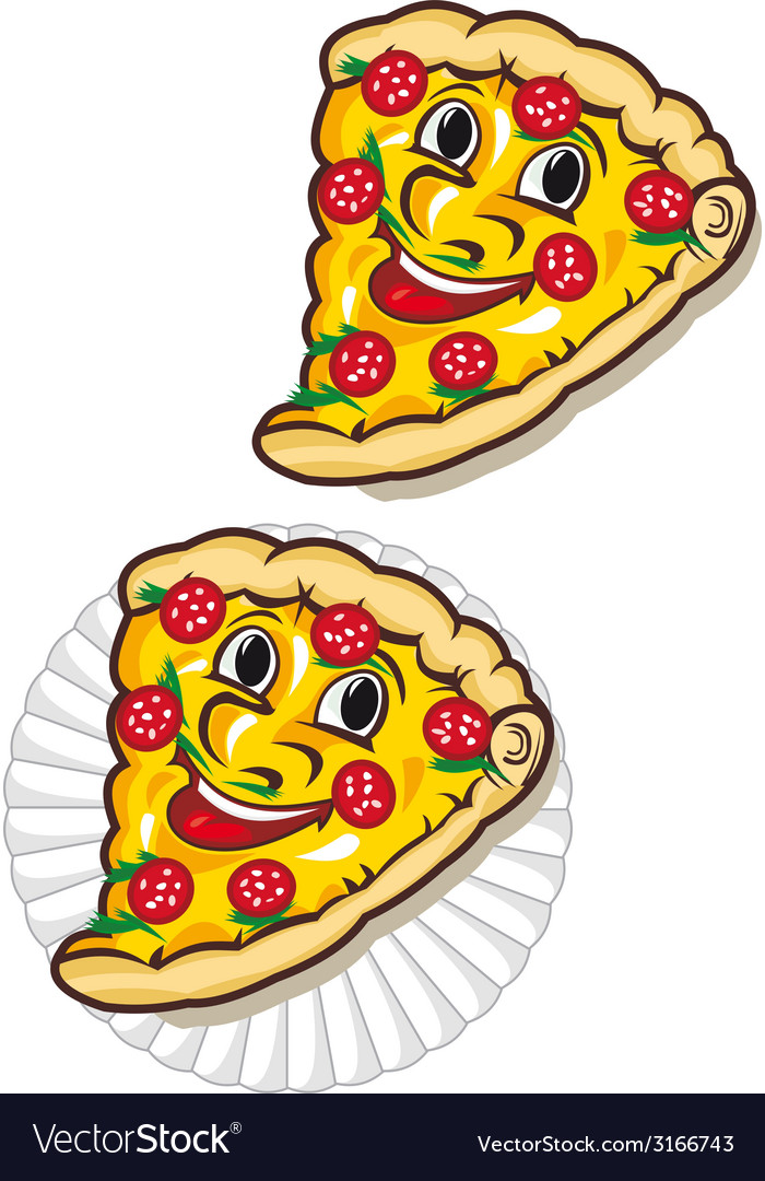 Appetizing pizza vector | Price: 1 Credit (USD $1)