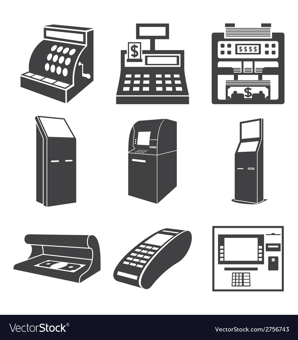 Devices for money vector | Price: 1 Credit (USD $1)