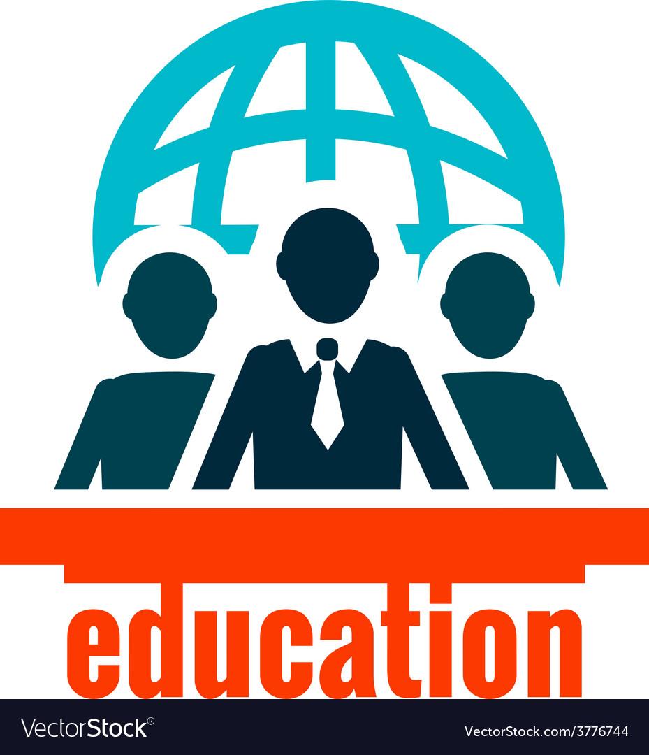 Education logo vector | Price: 1 Credit (USD $1)