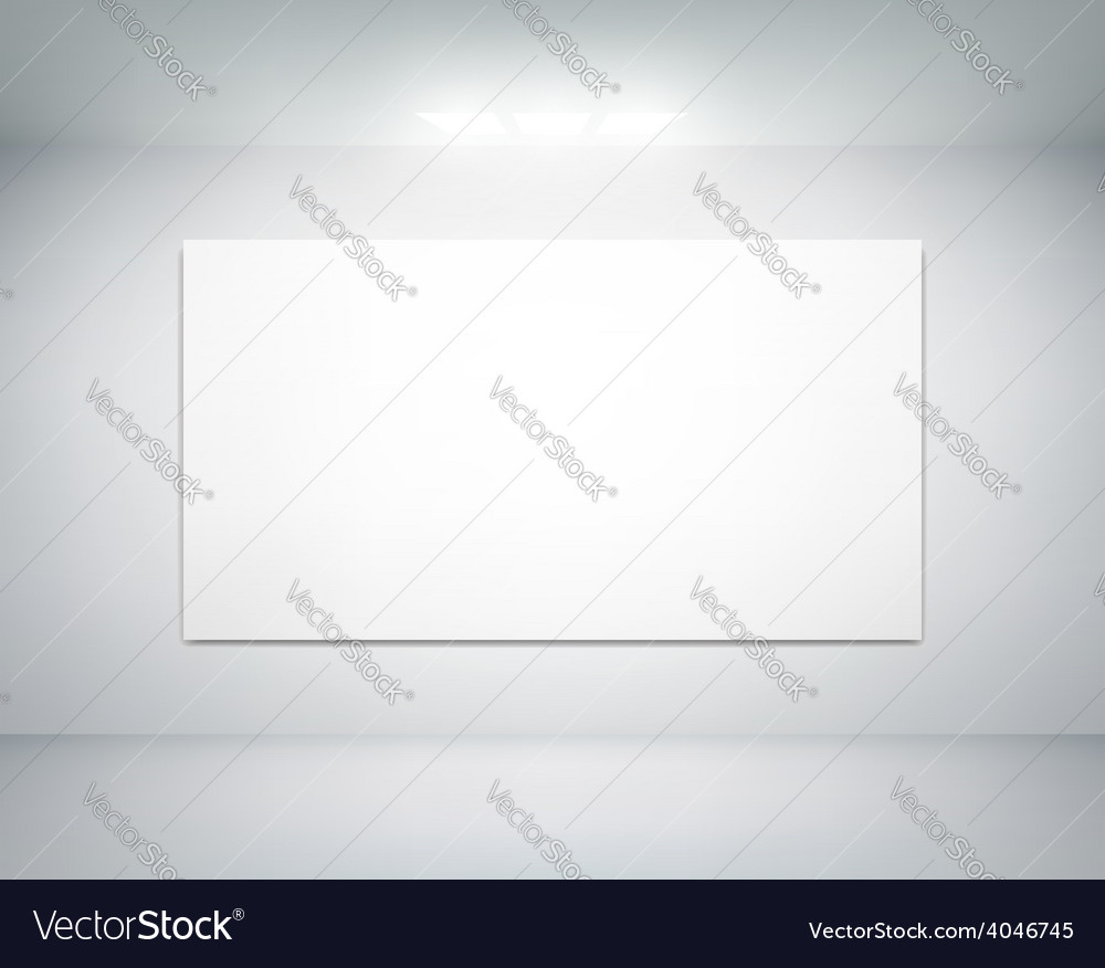 White wall on which shines a flashlight vector | Price: 1 Credit (USD $1)