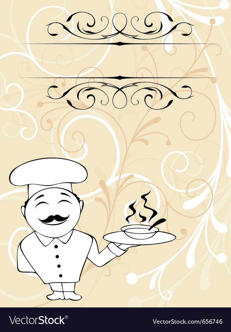 Chef menu vector | Price: 1 Credit (USD $1)