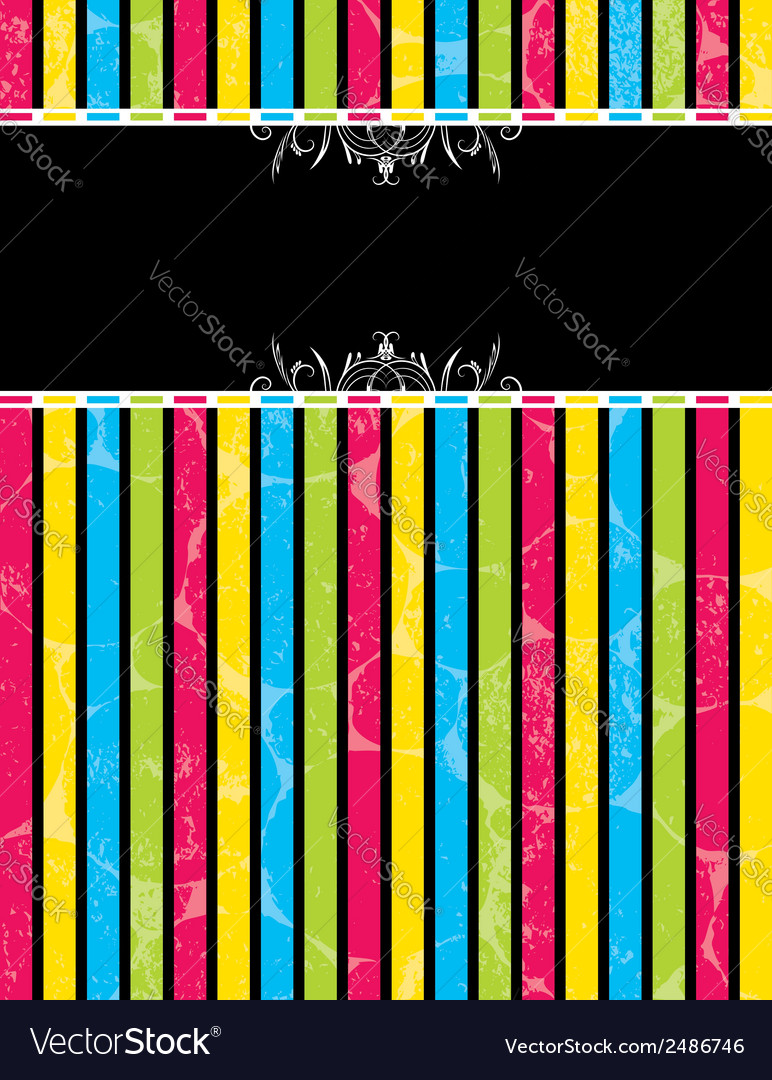 Color striped background vector | Price: 1 Credit (USD $1)