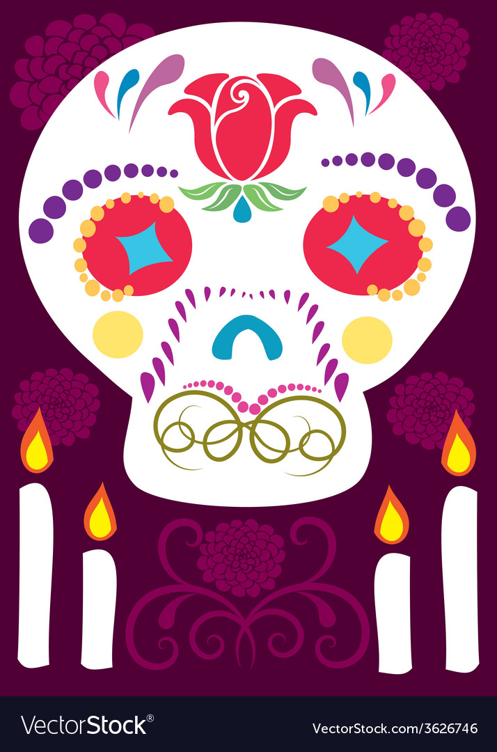 Day of the dead 6 vector | Price: 1 Credit (USD $1)