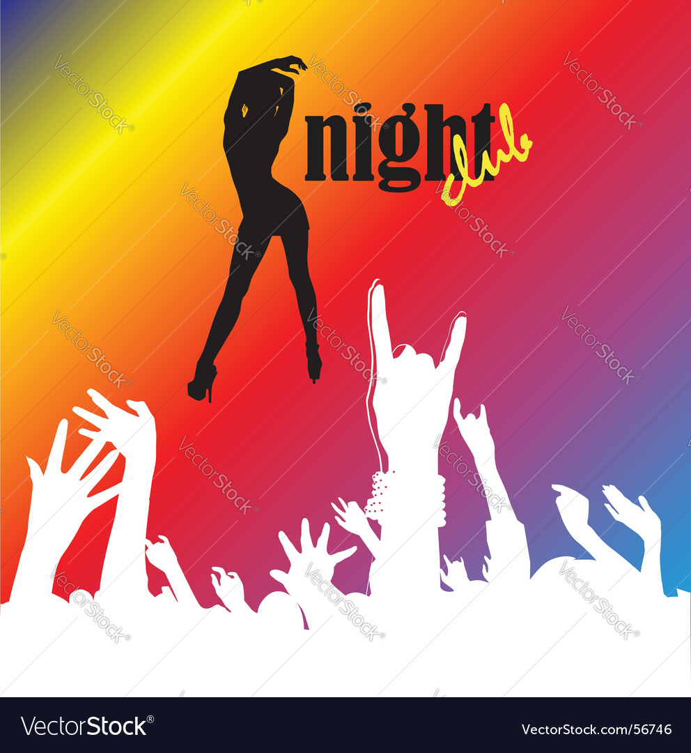 Nightclub vector | Price: 1 Credit (USD $1)