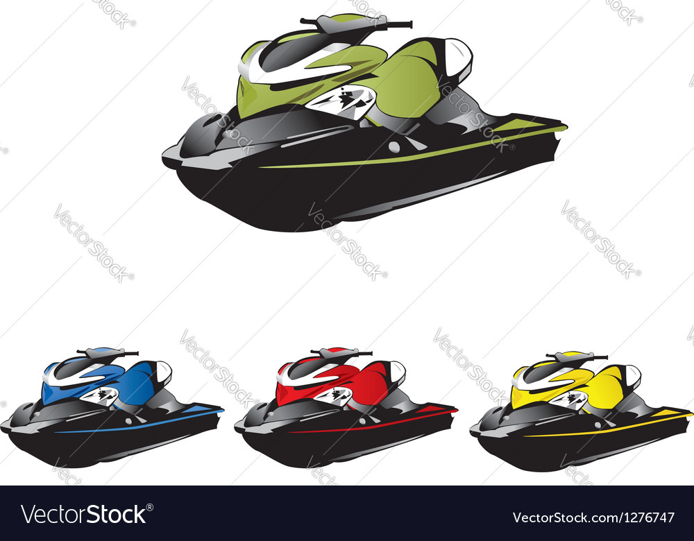 Jetski vector | Price: 1 Credit (USD $1)