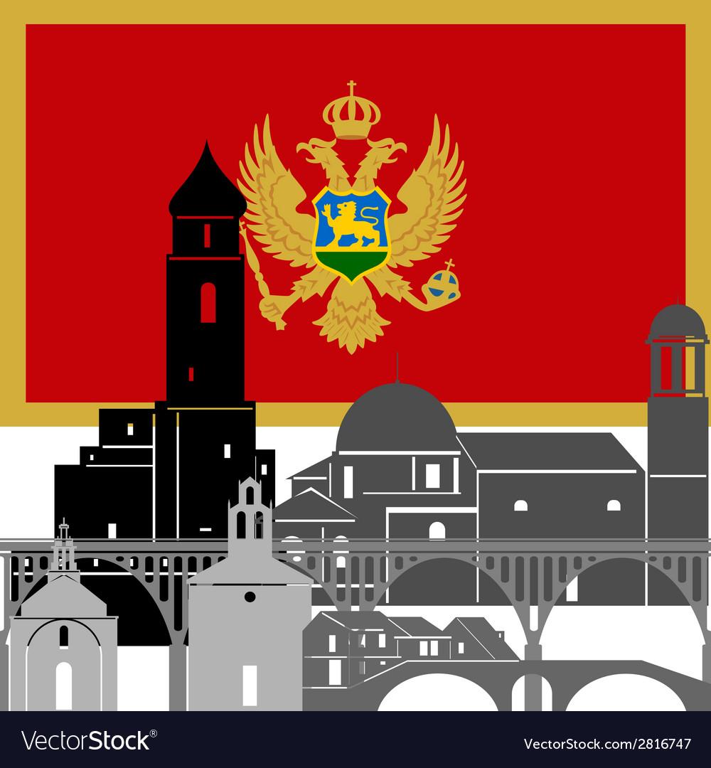 Montenegro vector | Price: 1 Credit (USD $1)