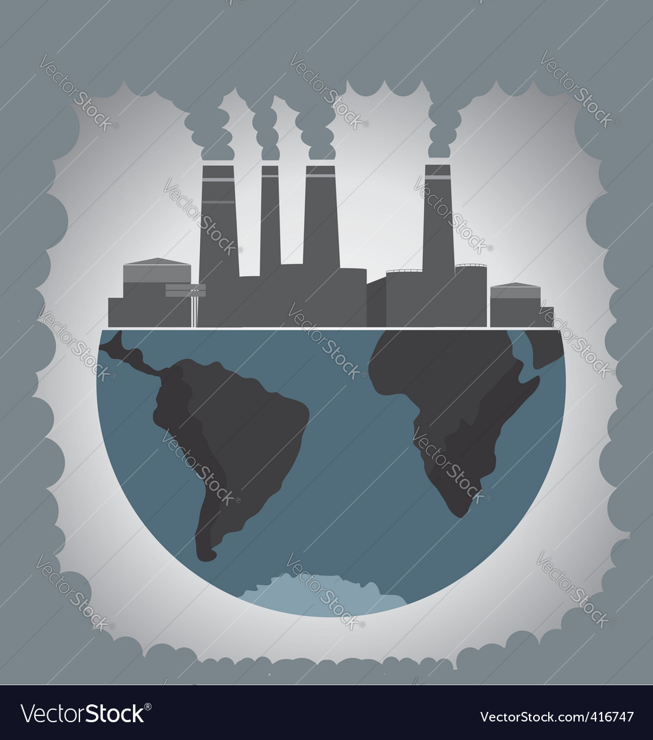 Pollution vector | Price: 1 Credit (USD $1)