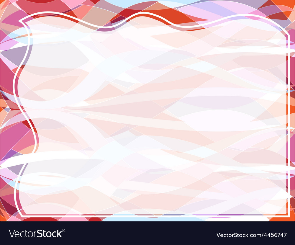 Wavy transparent retro slide background vector | Price: 1 Credit (USD $1)