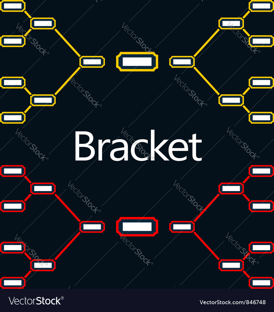 Bracket vector | Price: 1 Credit (USD $1)
