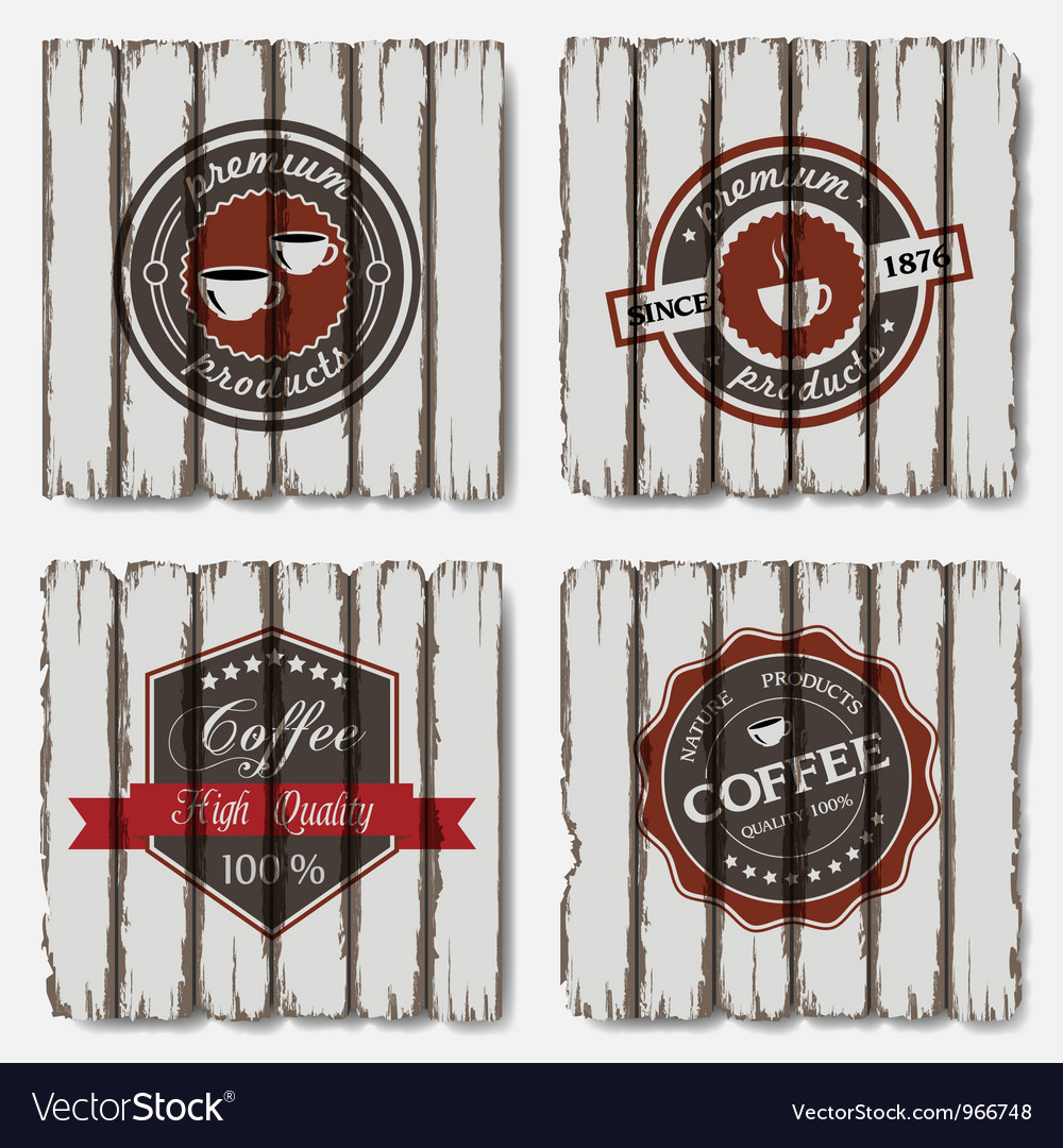 Coffee labels vector | Price: 1 Credit (USD $1)
