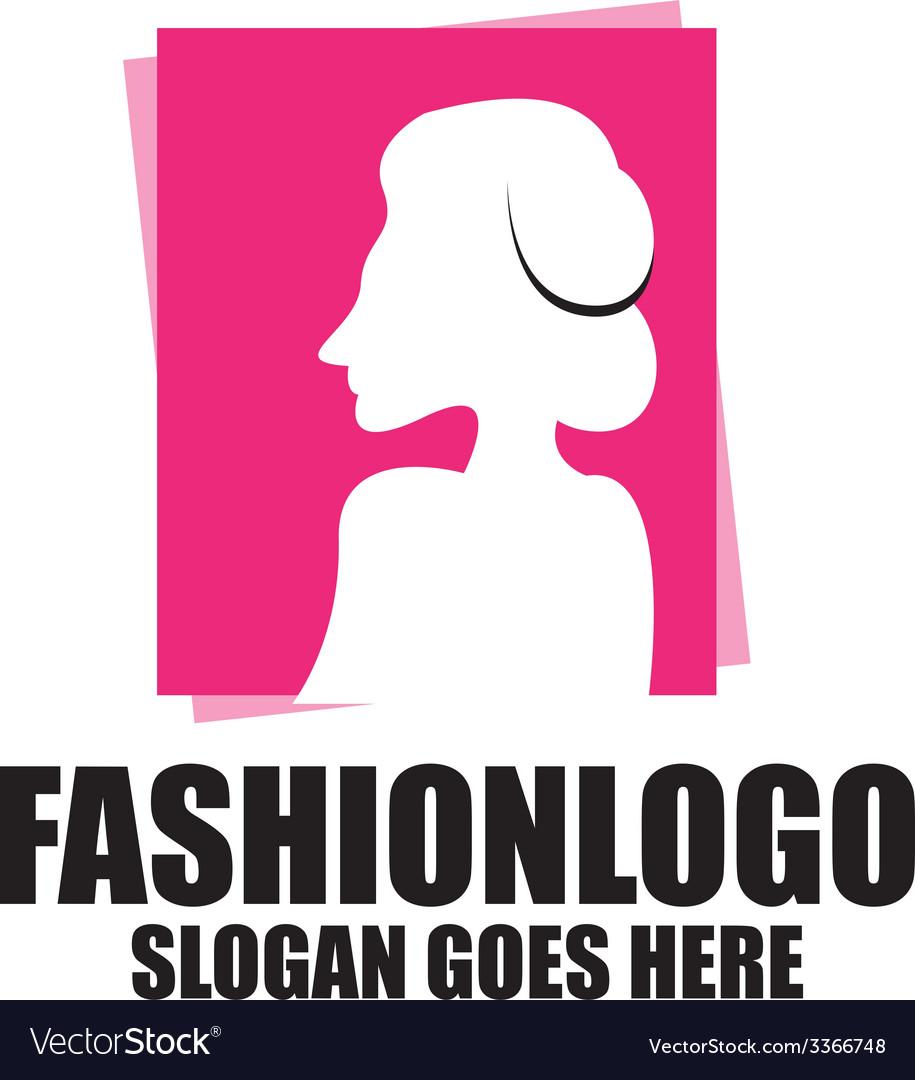 Fashion logo template vector | Price: 1 Credit (USD $1)