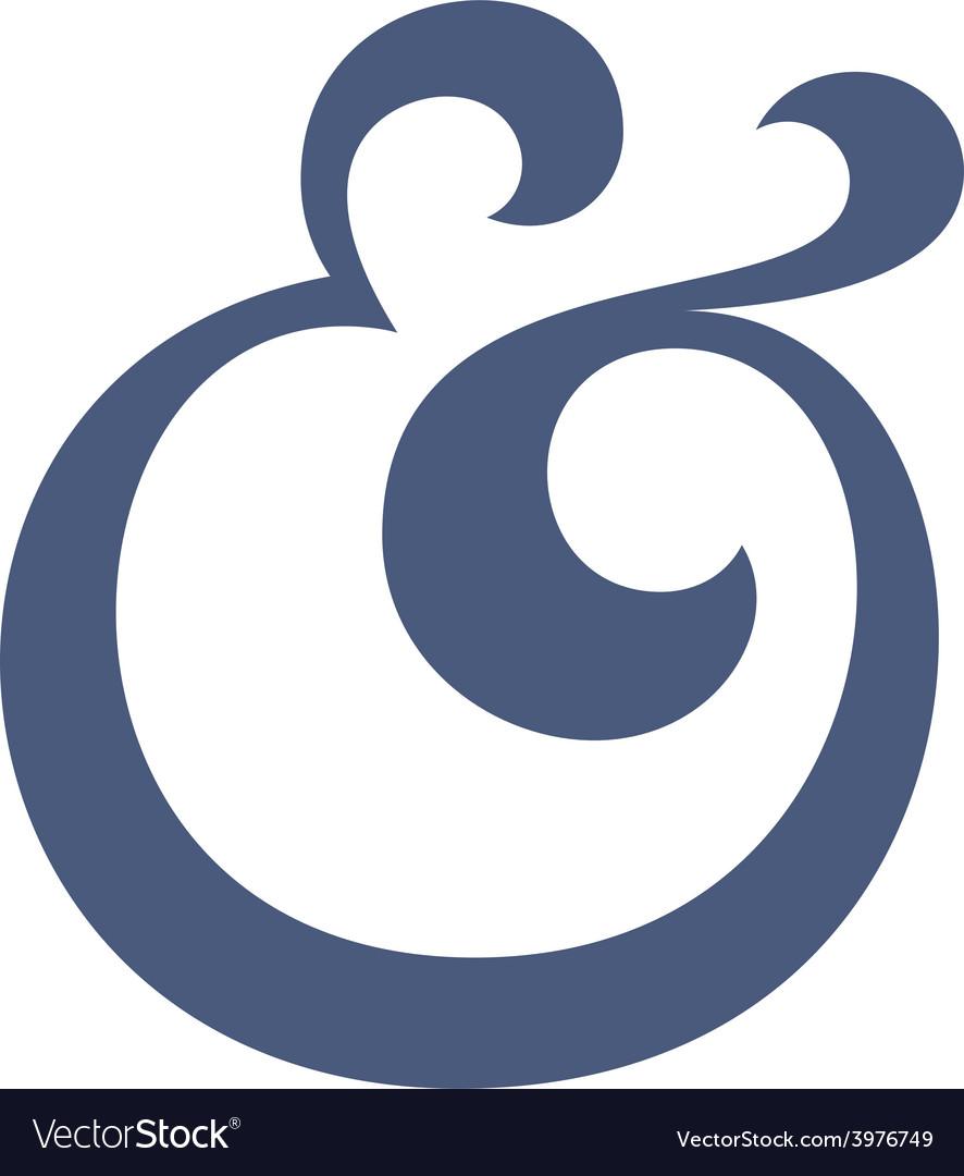 Ampersand vector | Price: 1 Credit (USD $1)