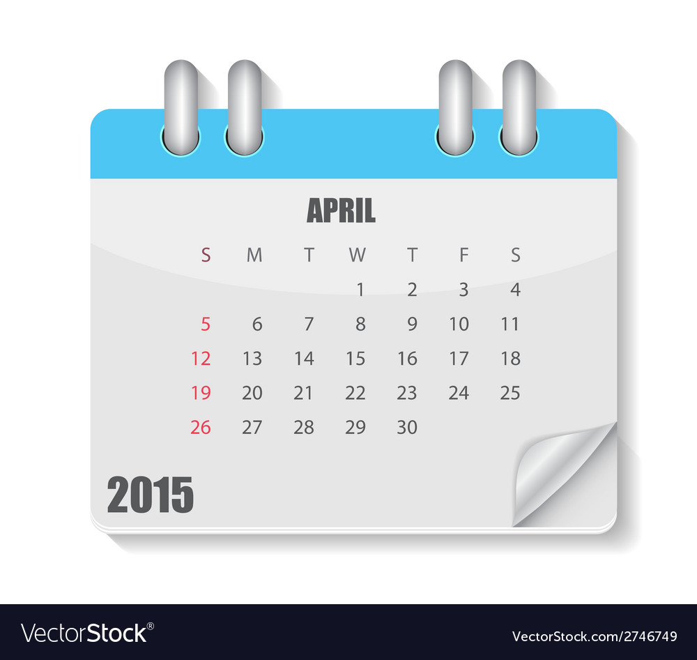 Calendar 2015 year vector | Price: 1 Credit (USD $1)