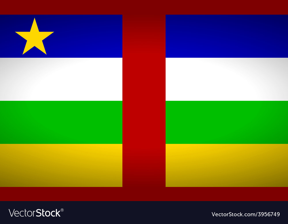 Central african republic vector | Price: 1 Credit (USD $1)