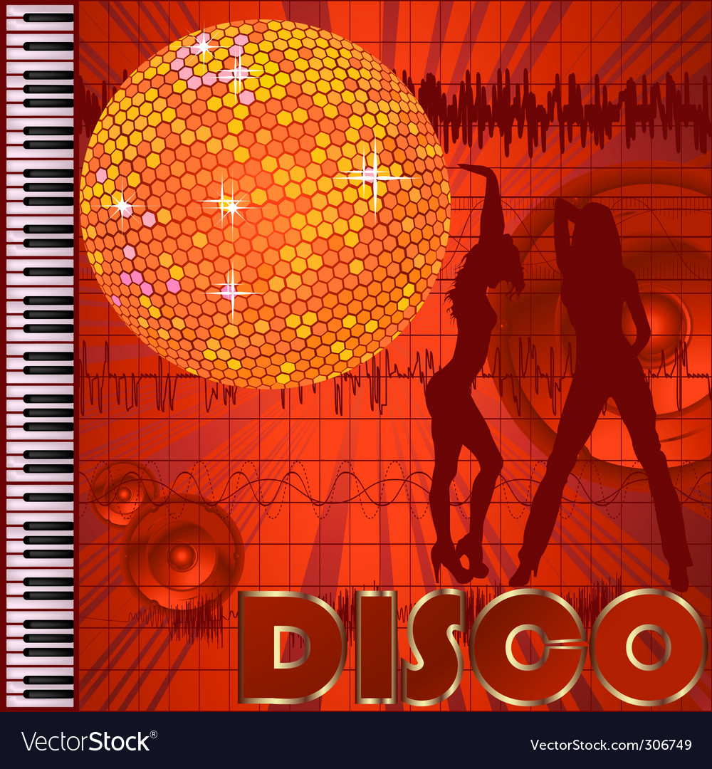 Disco club vector | Price: 1 Credit (USD $1)