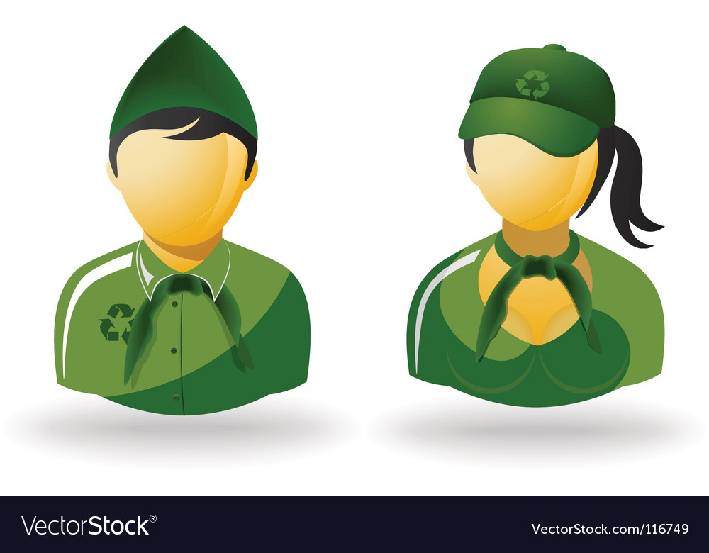 Eco people vector | Price: 1 Credit (USD $1)